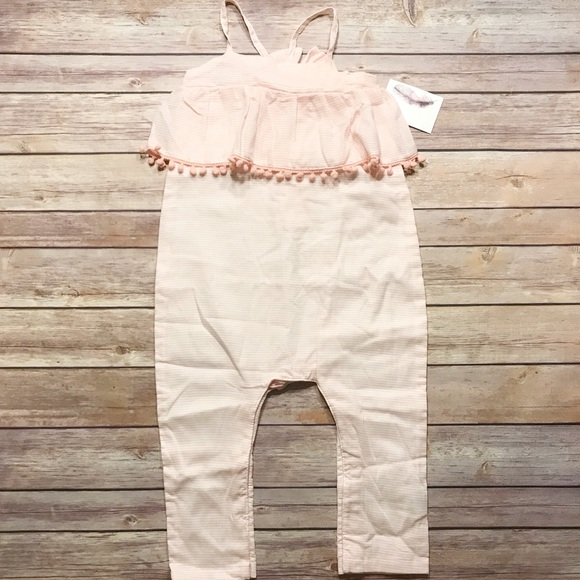 8a2a335ea02 Jessica Simpson Baby Girls Pink Romper